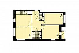 Продажа 3-х комнатной квартиры без отделки 90 кв.м на 11 этаже в ЖК City Park (Сити Парк), Мантулинская улица, 9к1