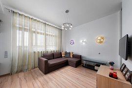 Продажа 3-х комнатной квартиры с евроремонтом 70 кв.м на 6 этаже в ЖК Гранд-парк, улица Гризодубовой, 4к4