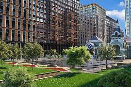 Продажа однокомнатной квартиры без отделки 38.3 кв.м на 14 этаже в ЖК Царская площадь, Ленинградский проспект, вл31