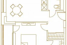 Продажа однокомнатной квартиры без отделки 37 кв.м на 10 этаже в ЖК Царская площадь, Ленинградский проспект, вл31