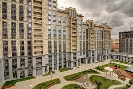 Продажа однокомнатной квартиры без отделки 51 кв.м на 2 этаже в ЖК Суббота, Москва, Верхняя улица, 20к1