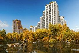 Продажа 3-х комнатной квартиры без отделки 90 кв.м на 17 этаже в ЖК City Park (Сити Парк), Мантулинская улица, 9к1