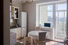 Продажа 2-х комнатной квартиры с дизайнерским ремонтом 80 кв.м на 16 этаже в ЖК Ностальгия, улица Маршала Тимошенко, 17к2